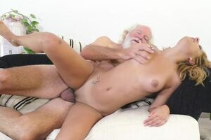 1St time old and youthful sex tongues well-prepped to deepthroat dick